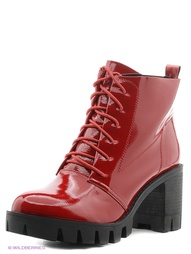 Красные Ботинки INARIO