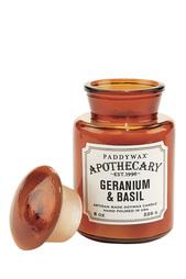 Ароматическая свеча Geranium & Basil, 227гр Paddy Wax