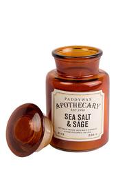 Ароматическая свеча Sea Salt & Sage, 227гр Paddy Wax
