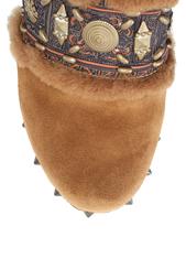 Замшевые туфли-мюли Jade ASH