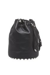 Кожаная сумка Alpha Soft Bucket Alexander Wang