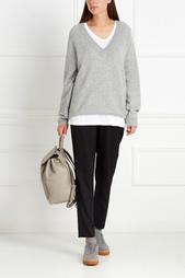 Пуловер из шерсти и кашемира T by Alexander Wang