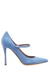 Голубые Замшевые туфли Lula Tabitha Simmons