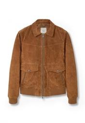 Куртка кожаная Mango Man