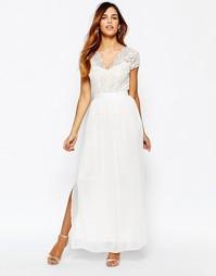 Платье макси с двойным разрезом до бедра Elise Ryan - Черный