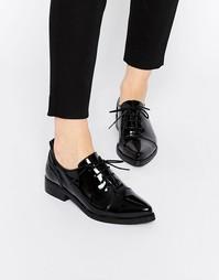 Лакированные туфли на плоской подошве Bronx - Черный