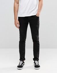 Эластичные джинсы скинни черного цвета !SOLID - Черный
