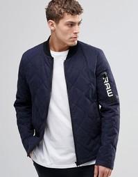 Стеганая куртка G-Star Batt - Синий
