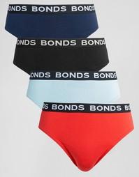 Набор из 4 трусов Bonds - Мульти