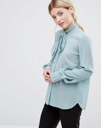 Блузка с завязкой у шеи Alter - Зеленый