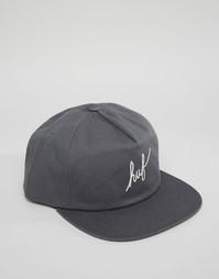 Бейсболка с логотипом HUF - Серый