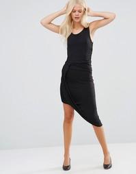 Платье асимметричной длины JDY - Черный