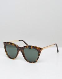 Солнцезащитные очки кошачий глаз AJ Morgan - Коричневый