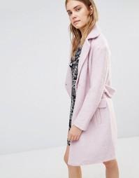 Пальто-кокон Lost Ink - Розовый