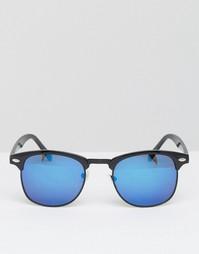 Солнцезащитные очки в стиле ретро 7X - Черный