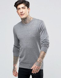 Scotch & Soda Jumper With Crew Neck Cotton In Grey - Серый