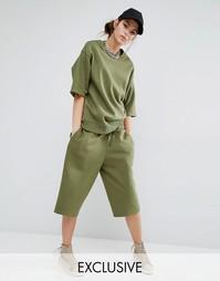 Длинные шорты Bones - Зеленый