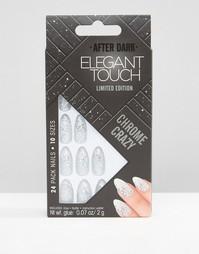 Блестящий лак для ногтей ограниченной серии Elegant Touch After Dark - Серебряный