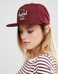 Бордовая кепка Herschel - Красный