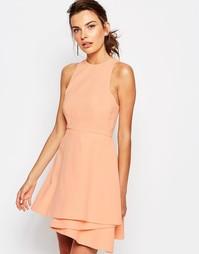 Золотистое платье мини C/meo Collective Fools - Розовый