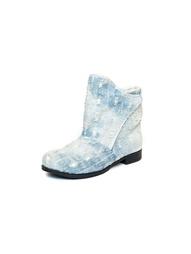 Голубые Ботинки AZ-ART
