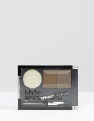Тени для бровей NYX Eyebrow Cake Powder - Коричневый