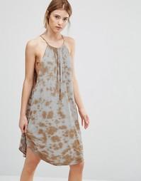 Свободное платье‑халтер NYTT - Красный