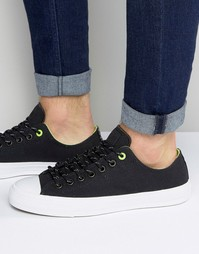 Converse Chuck Taylor All Star II Shield Plimsolls In Black 153541C-001 - Черный