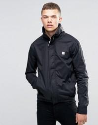 Черная куртка с воротником-стойкой Bench - Черный