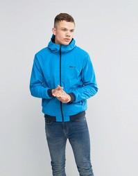 Легкая синяя куртка на молнии Bench - Синий