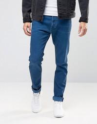 Синие джинсы скинни Diesel Tepphar 856Y - Синий