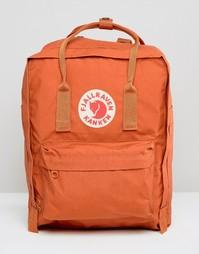 Классический рюкзак кирпичного цвета Fjallraven Kanken - Красный