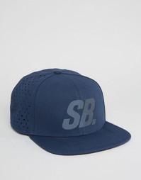 Синяя кепка с перфорацией Nike SB Reflect Pro 804567-451 - Синий