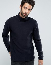 Only & Sons Roll Neck Knitted Jumper - Темно-синий