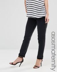 Черные джинсы в винтажном стиле для беременных ASOS Maternity Farleigh - Черный