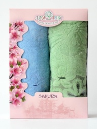 Полотенца банные Домтекс