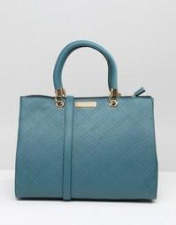 Стеганая сумка‑тоут Carvela - Синий