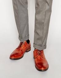 Кожаные туфли Dune Brummie - Рыжий