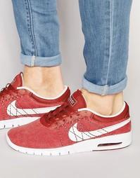 Красные кроссовки Nike SB Koston Max 833446-601 - Красный