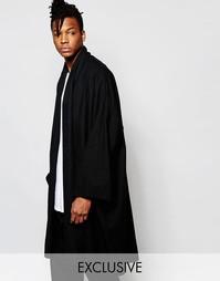 Oversize-пальто Unplugged Museum - Черный