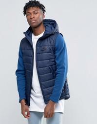 Синяя куртка с капюшоном Nike AV15 806856-451 - Синий