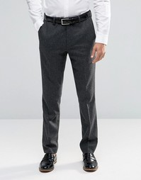 Зауженные шерстяные брюки Ted Baker - Серый
