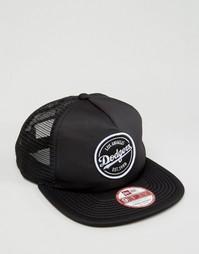 Бейсболка с сеточкой и эмблемой New Era 9Fifty - Черный
