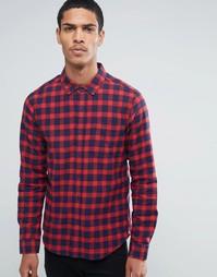 Рубашка в клетку Another Influence - Красный