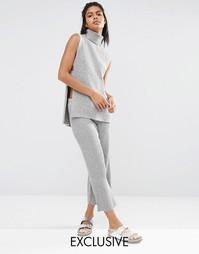Трикотажная юбка-шорты Micha Lounge - Серый