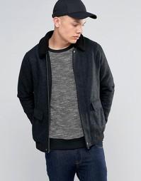 Куртка с меховым воротником Another Influence - Черный