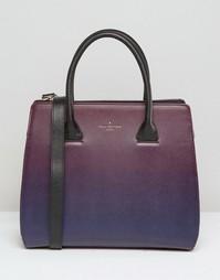 Сумка-тоут сливового цвета с эффектом омбре Pauls Boutique Georgia - Фиолетовый