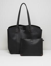 Oversize-сумка Pauls Boutique Emilia - Черный