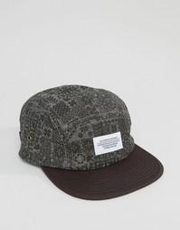 5-панельная кепка Wesc Syjunta - Черный