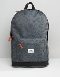 Рюкзак с узором Wesc Chaz - Черный
